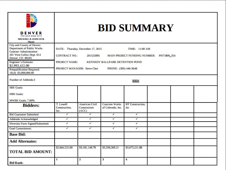 contract-bid-sample-summary-template