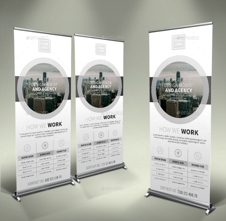 Corporate Industry Rollup Banner Template