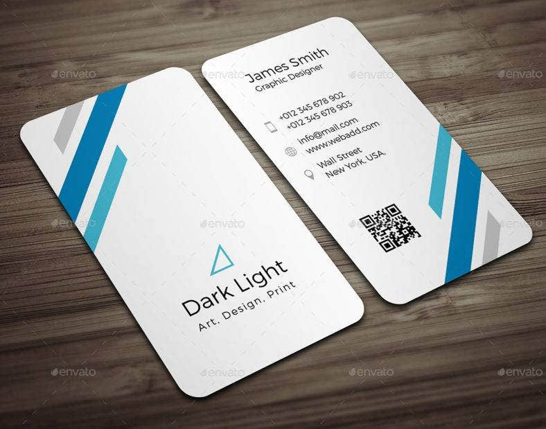 corporate vetical business card template 788x619