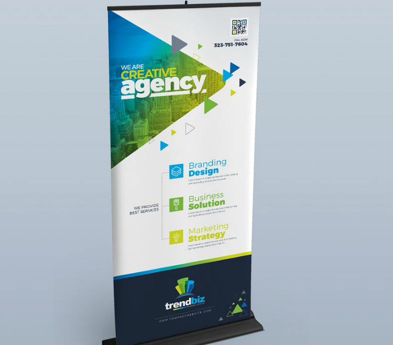 Creative Agency Digital Signage Template