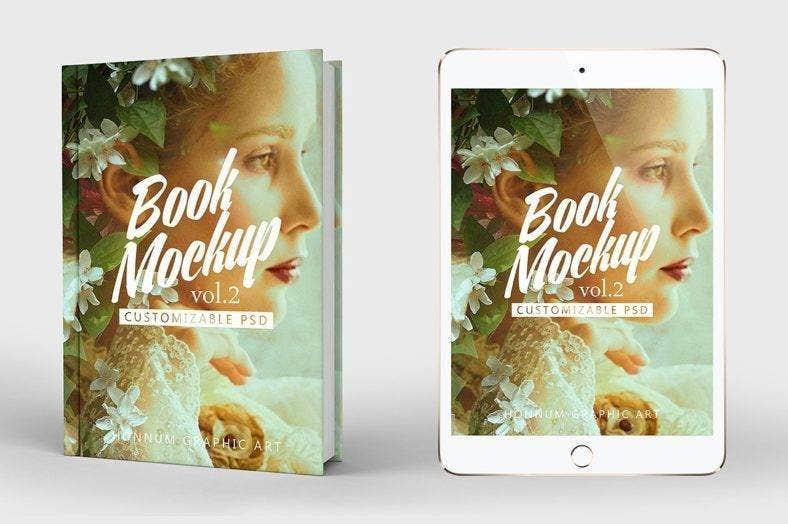 Creative Art Book Cover Template