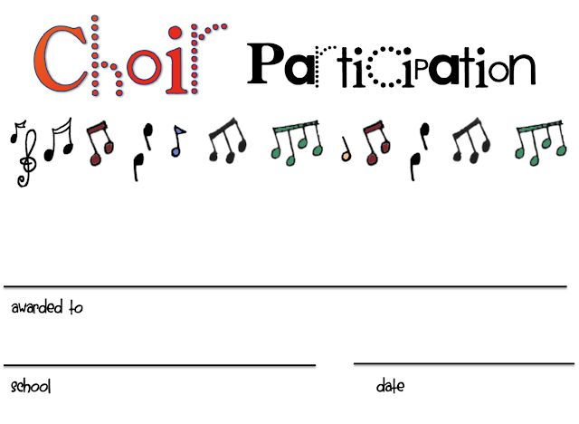 8+ Free Choir Certificate of Participation Templates - PDF