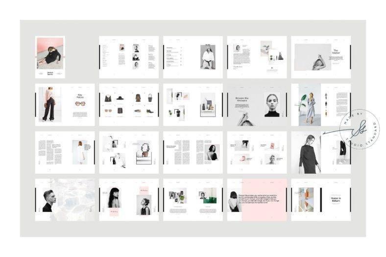 creative fashion magazine template 788x525