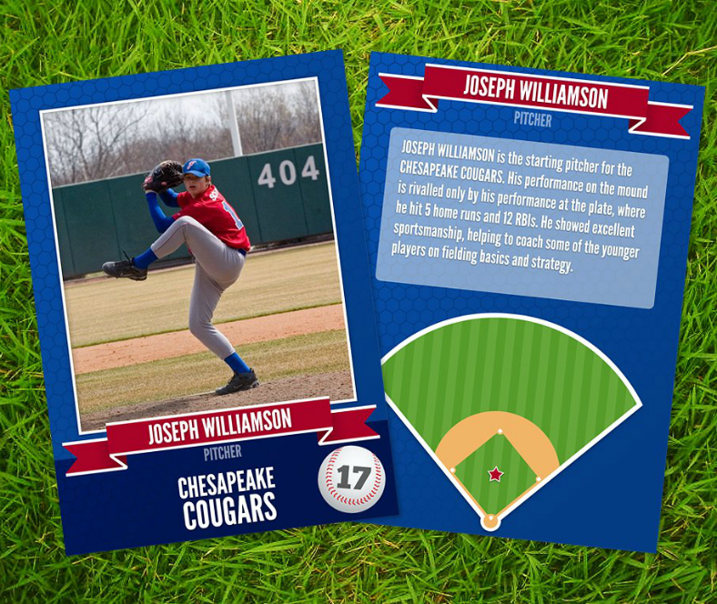 12 Baseball Trading Card Designs Templates Psd Ai
