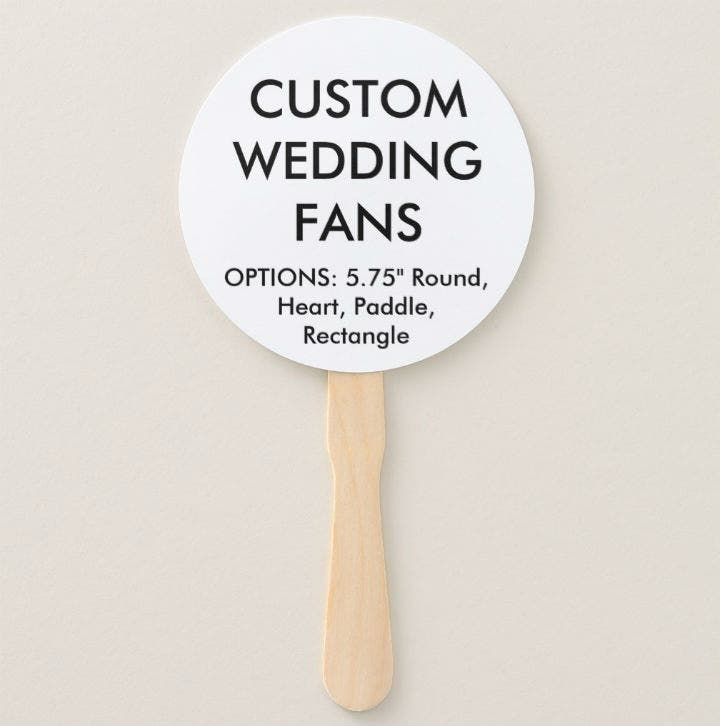 custom-round-wedding-fan-template