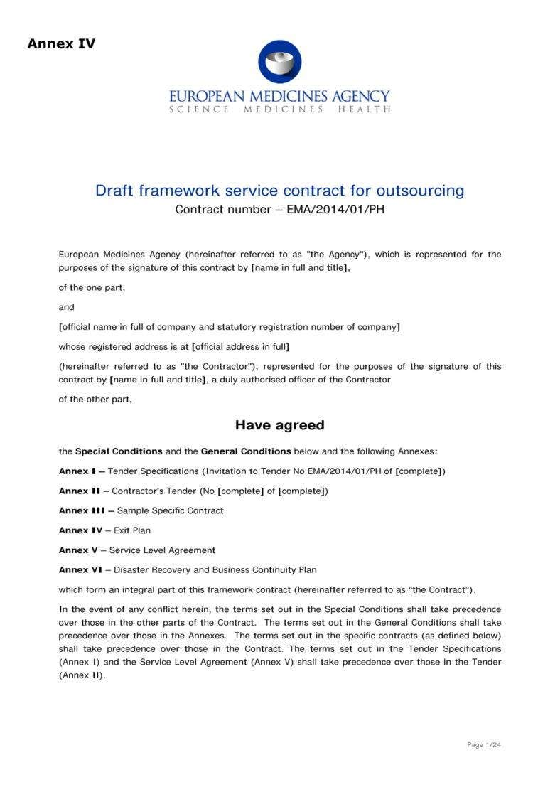 Draft-Service-Contract-for-Outsoucing-01-788x1114 Sample Business Letter Template Word on company introduction, for kids, employment termination, scholarship recommendation, donation request, employee termination, professional cover, university petition, pdf collection, formal business, insurance cancellation,