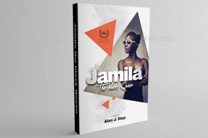 editable geometric design accounting book cover template