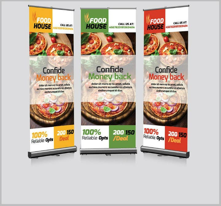 editable-restaurant-roll-up-banner-psd-template