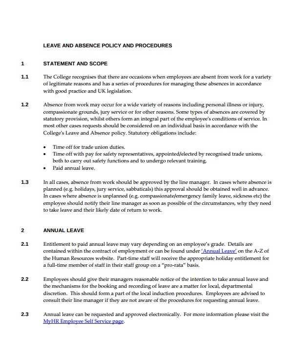 14  emergency leave letter templates