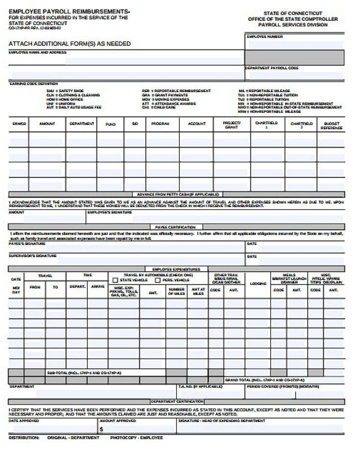 employee-payroll-reimbursements-form-template