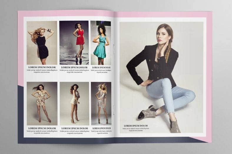 fashion photography magazine template 788x525