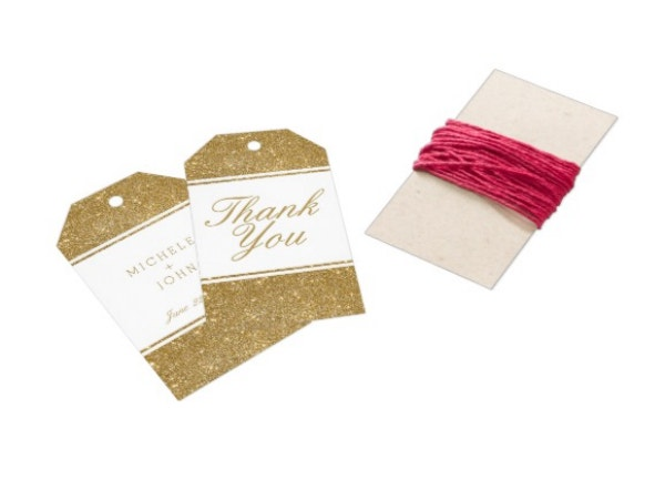 faux-gold-glitter-wedding-thank-you-gift-tags