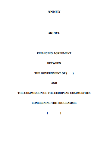 4 finance agreement templates pdf free premium templates
