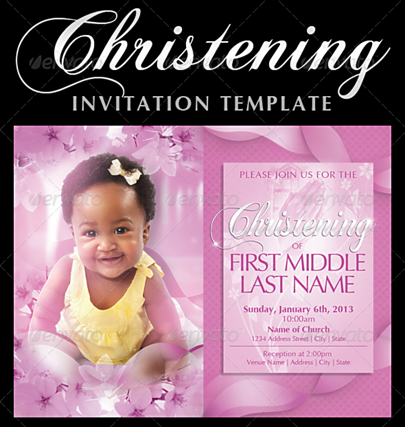 12 baptism invitation designs templates in psd free premium templates. Black Bedroom Furniture Sets. Home Design Ideas