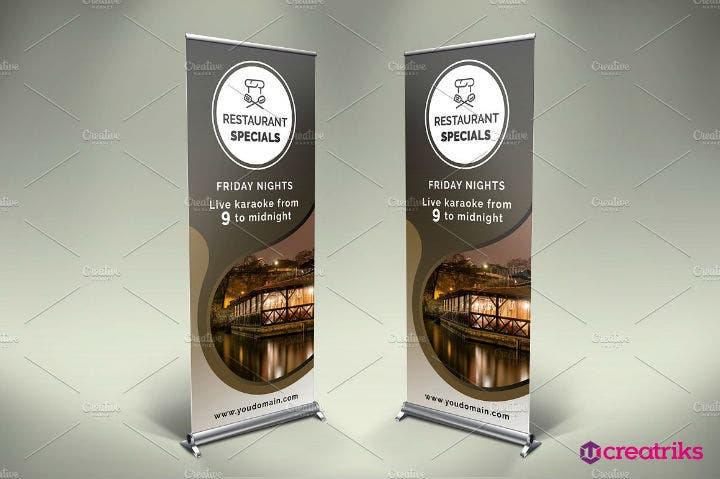 formal-restaurant-roll-up-banner-psd-template