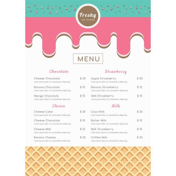 free-ice-cream-menu-template