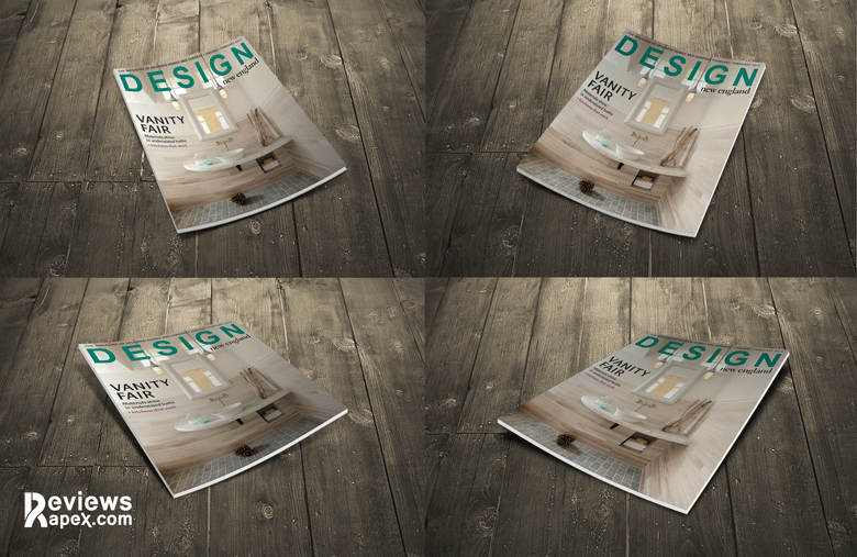 Free Magazine Cover Mockup Download
