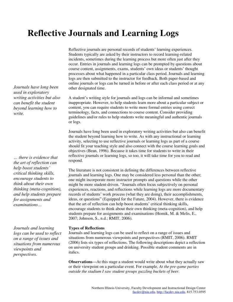 free-reflective-journal-template
