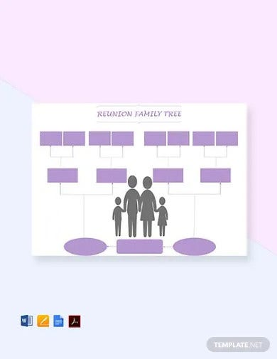 free reunion family tree template