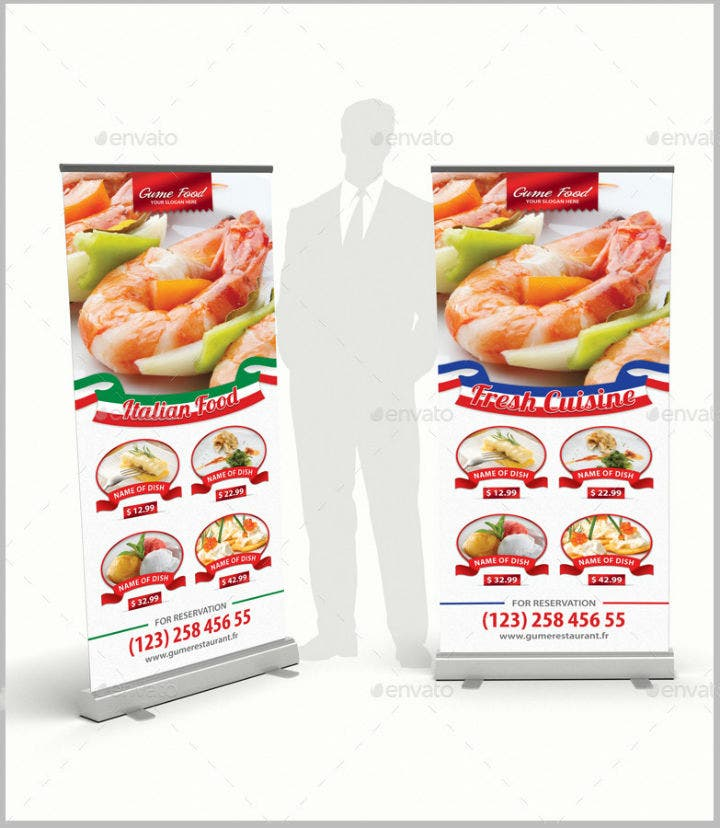 fresh-cuisine-restaurant-rollup-banner-template