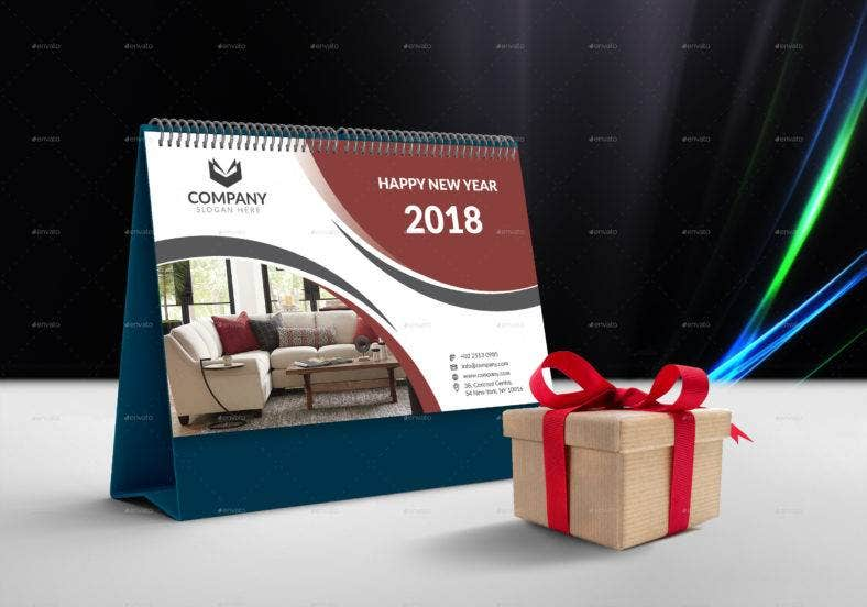 furniture table calendar template 788x552
