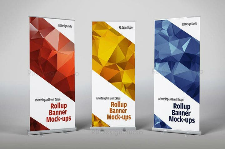 geometric-style-roll-up-banner-psd-template