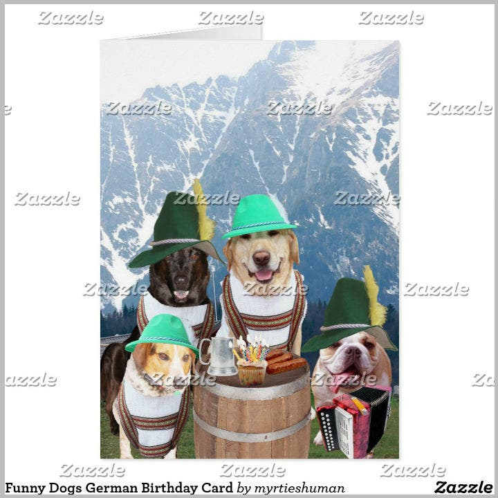 german-dog-birthday-card-template