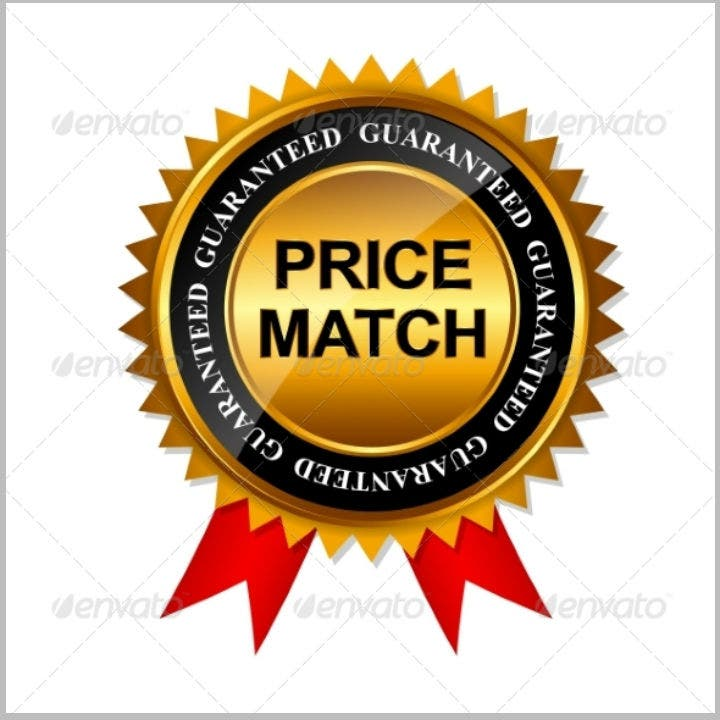 gold-label-guarantee-price-sign-template