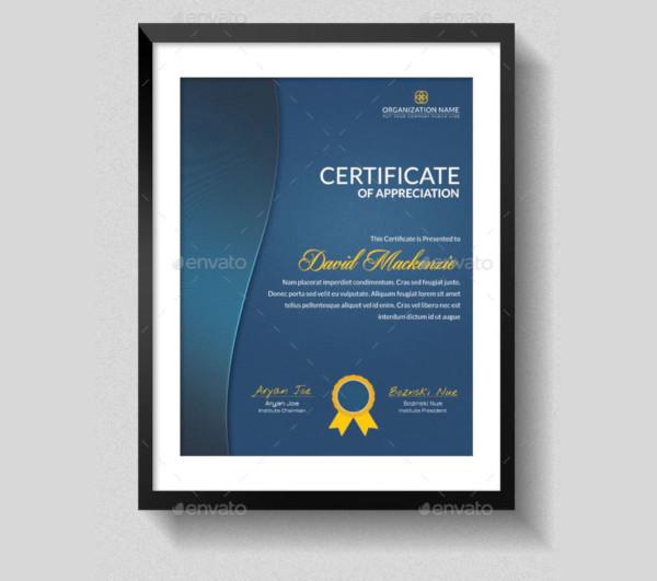 graduation appreciation multipurpose certificates template