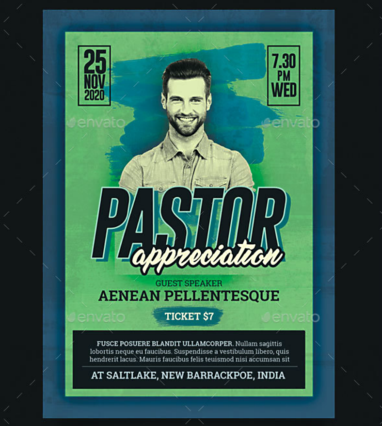 graffiti style pastor appreciation flyer template 788x879