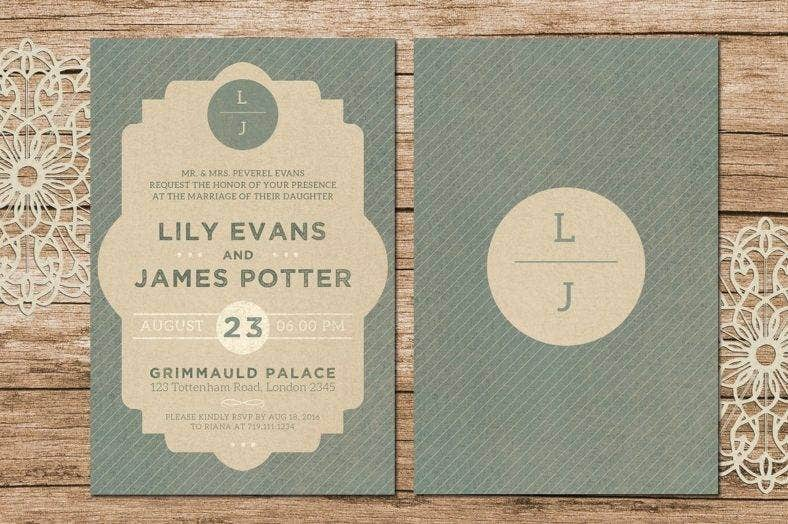harry potter marriage invitation template 788x524