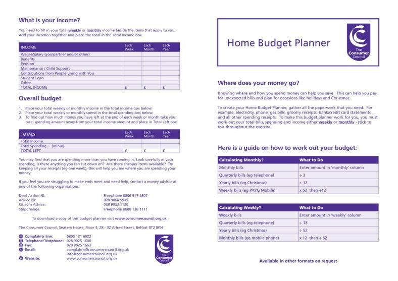Home Budget Planner