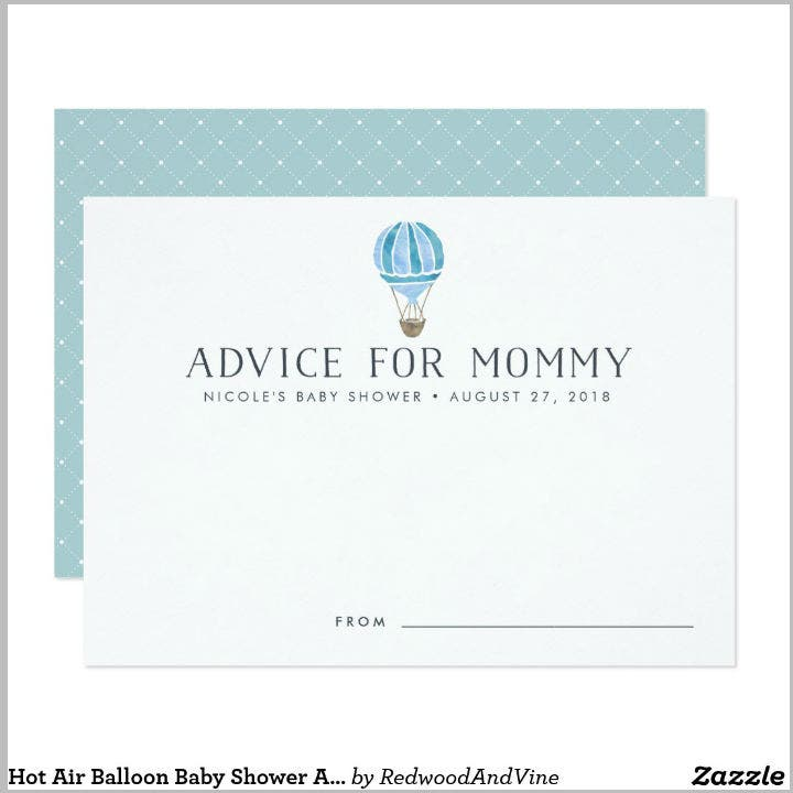 hot-air-balloon-baby-advice-card-template