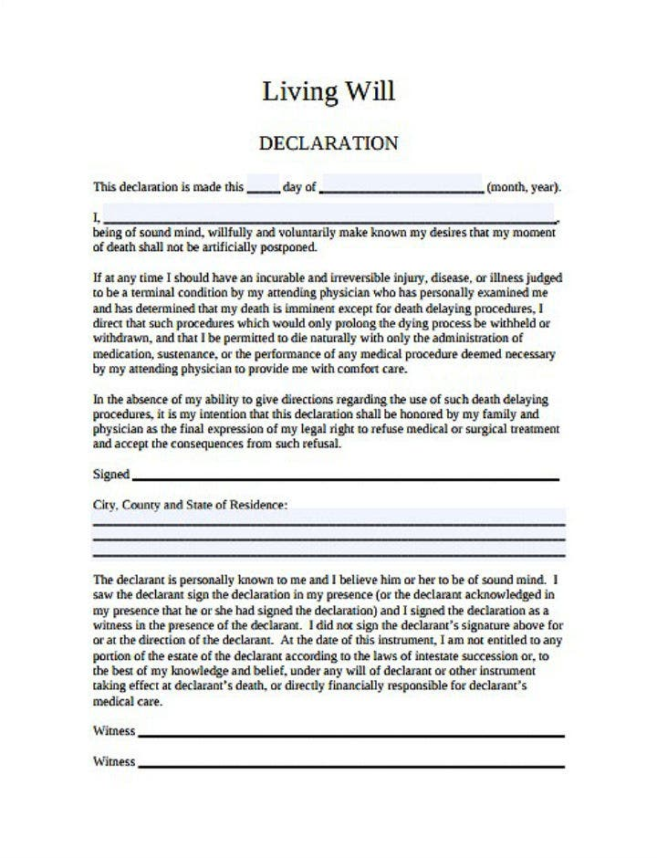 illinois-statutory-living-will-declaration-template