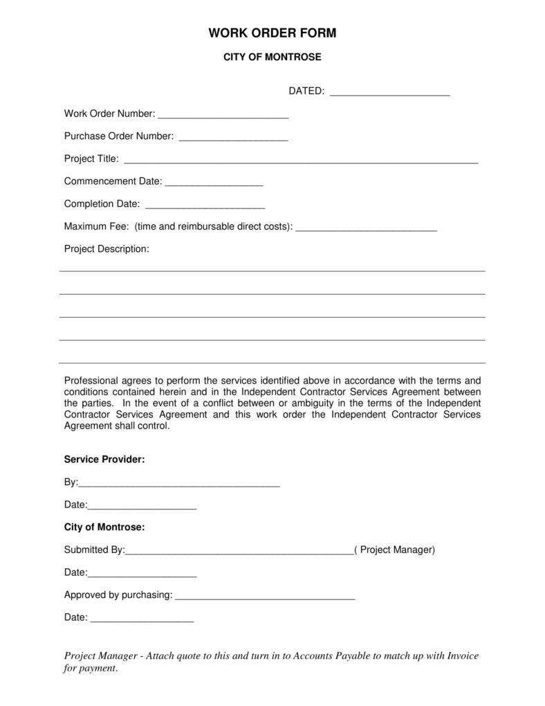 independent contractor work order form 1 788x1020