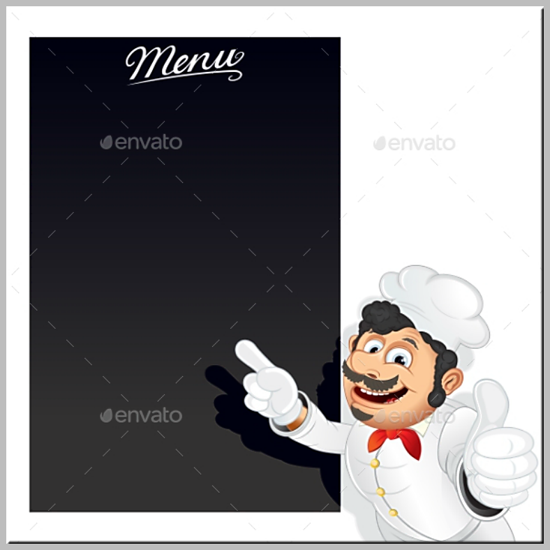 italian blank chalkboard menu template 788x788