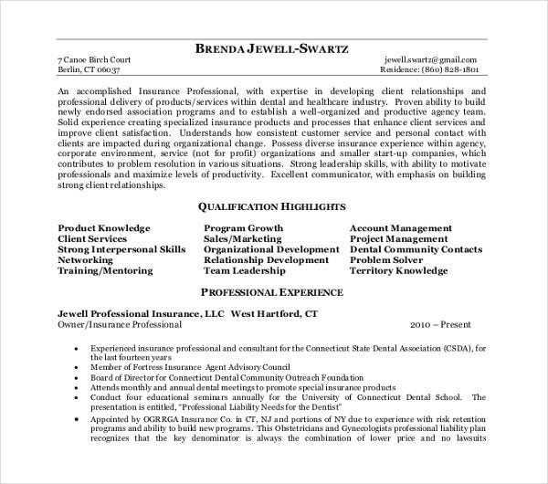jewel executive resume