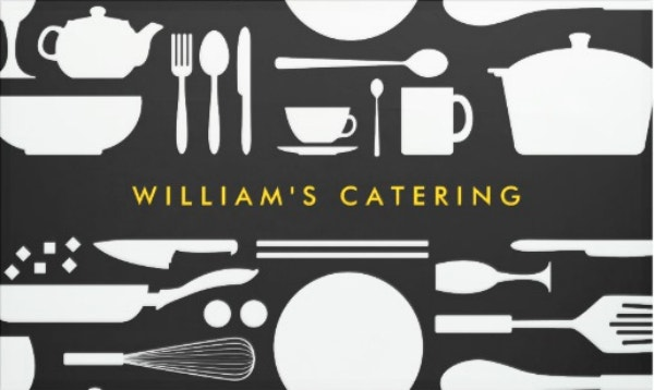 kitchen collage catering banner