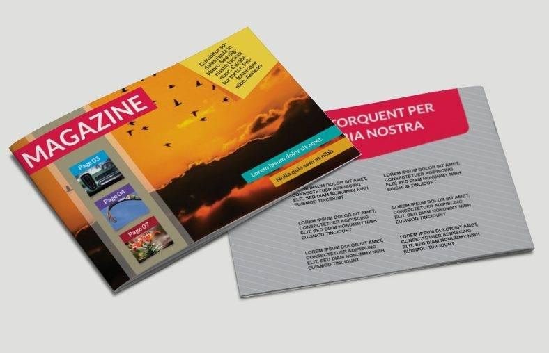 landscape-magazine-template