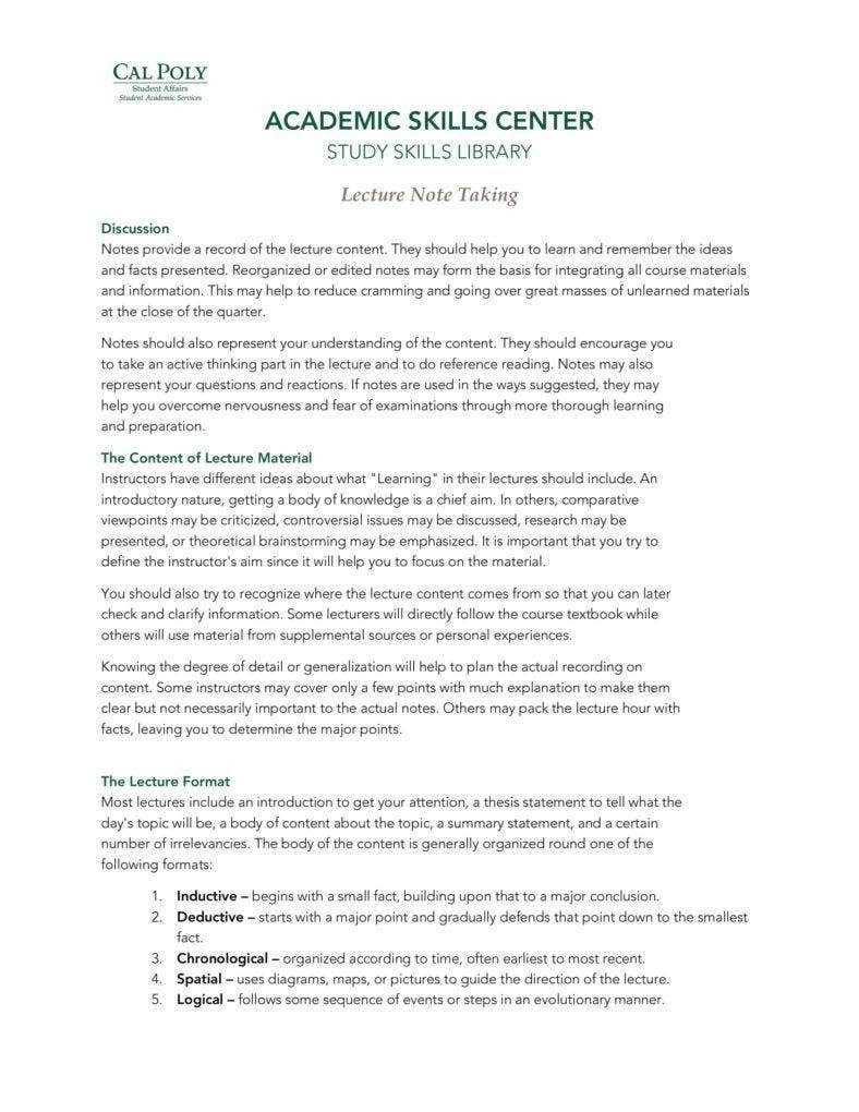 lecture notes template 788x1020