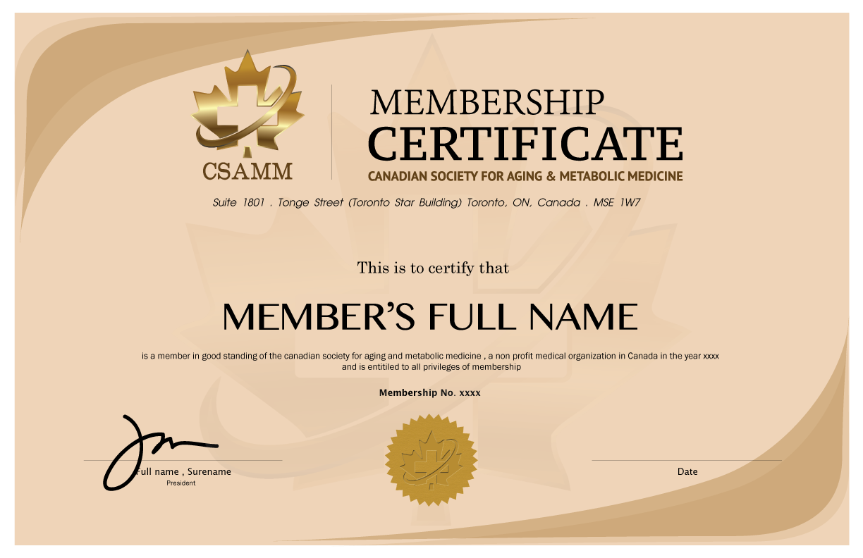 8+ Medical Membership Certificate Templates - PDF | Free ...