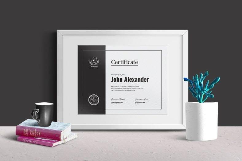 minimal-certificate