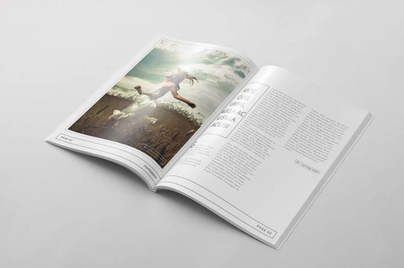 minimal-magazine-template