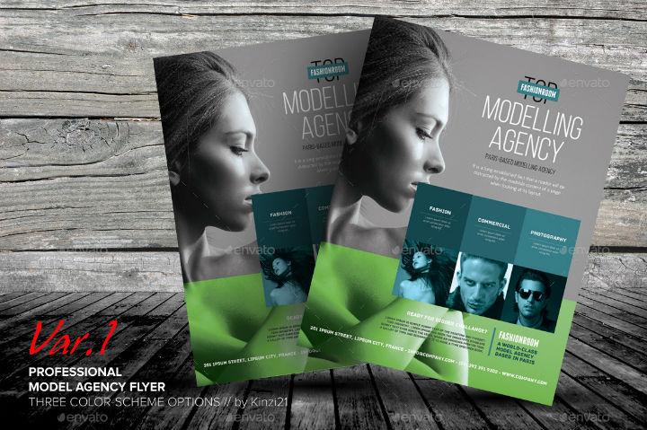 modeling-talent-agency-flyer-template