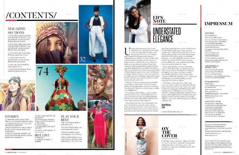 modern magazine template 788x510