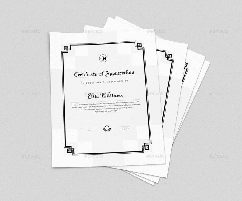 multipurpose minimal design certificate 788x657