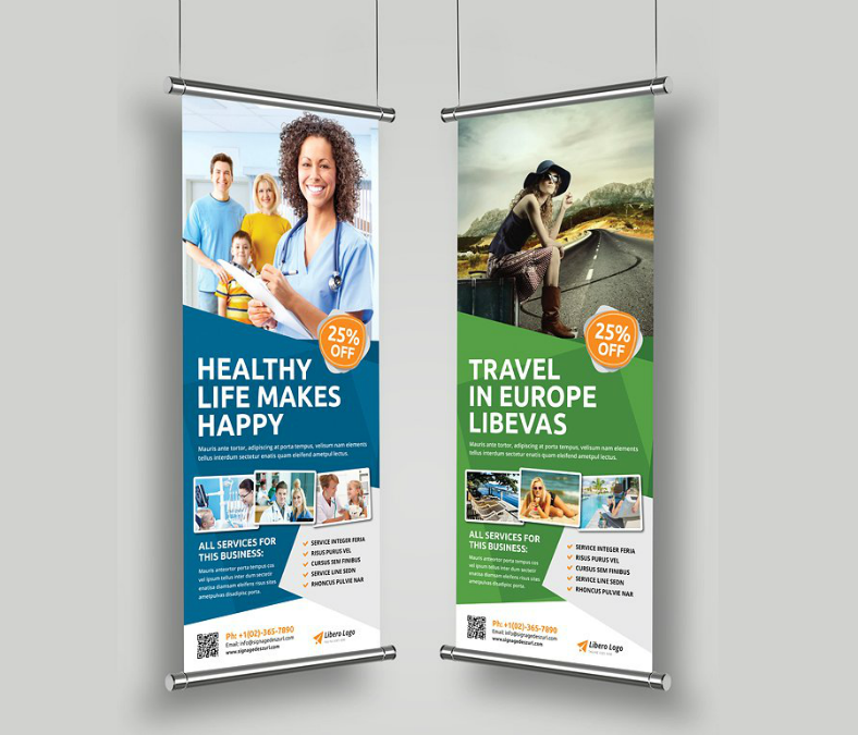 Multipurpose Modern Rollup Banner Template