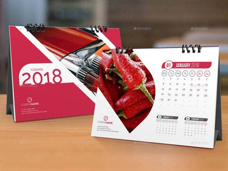 office table calendar template 788x590