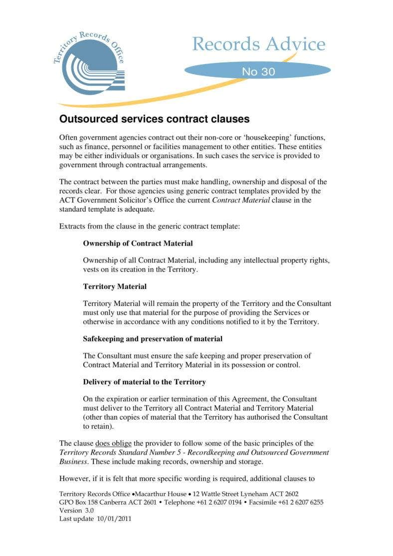 outsourced services contract clauses 1 788x1114