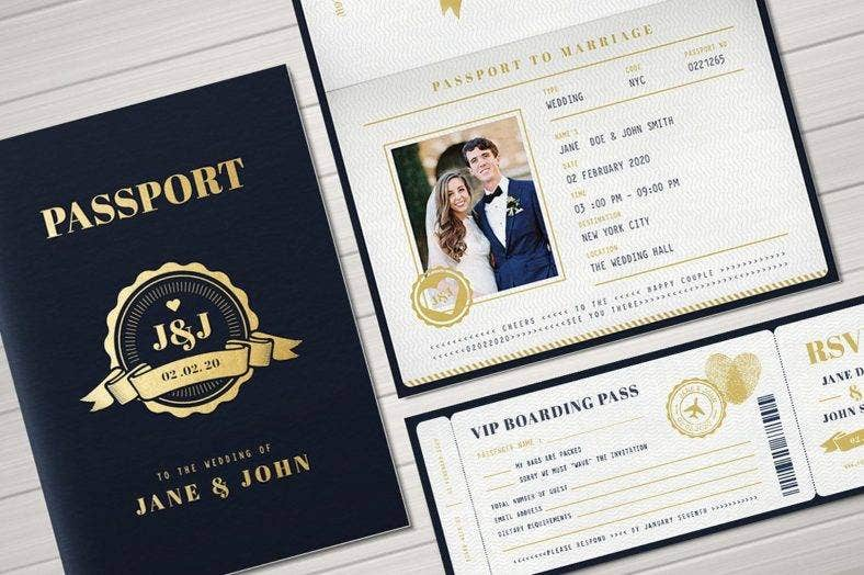 passport marriage invitation template 788x524